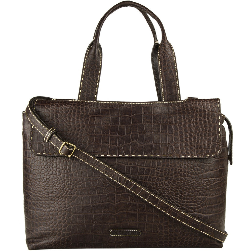 Hidesign Women's Leather Laptop Work Bag