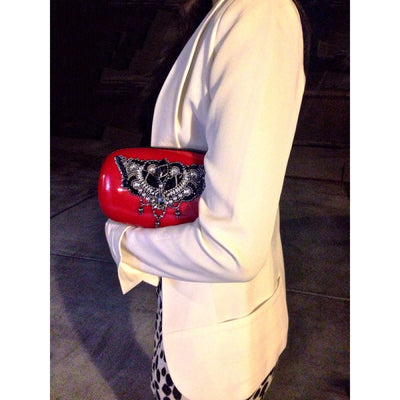 Candy Clutch (Red/Black)