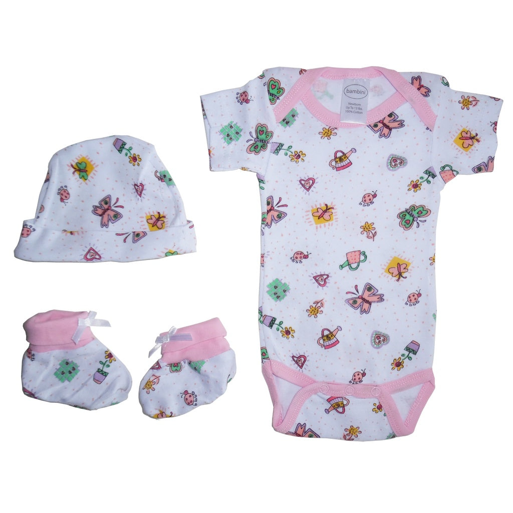 Bambini Girls Baby Gift Set