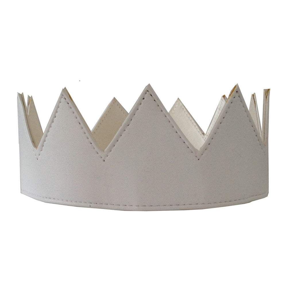 White Leather Crown
