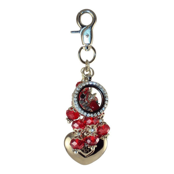 Purse Light w/Locket - RED