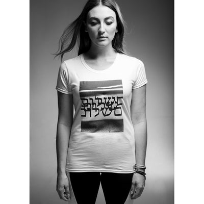Womens Fashion T-Shirt - Shalom Print