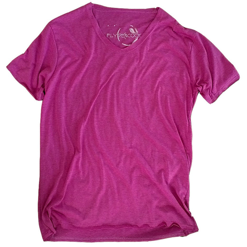 Light Purple V-neck