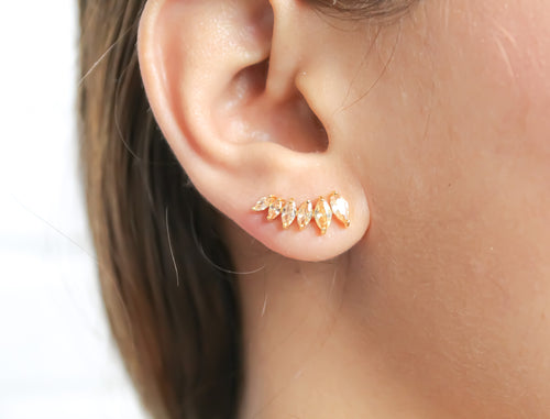 Stepping Stone Climber Earrings