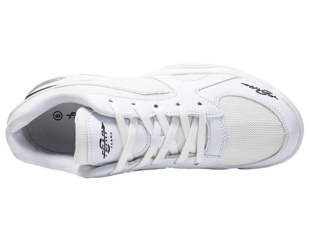 The One High Arch Orthopedic Comfort Walking Running Performance White Sneakers Shoes for Men