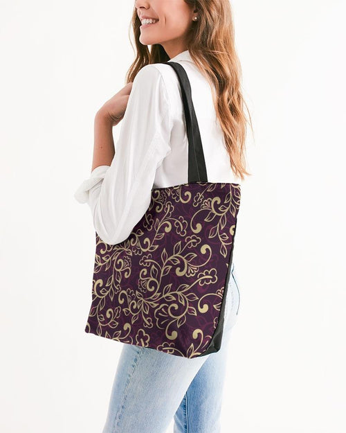 Royal Canvas Zip Tote