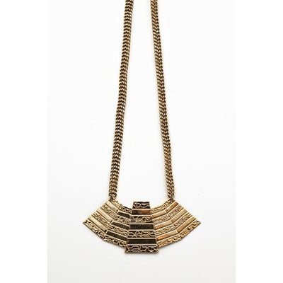 Five Pyramid Necklace