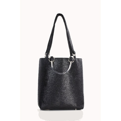 Boa Black Large Tote