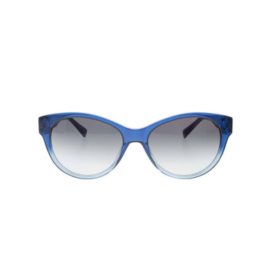 Blue to Light Blue Gradient Cateye