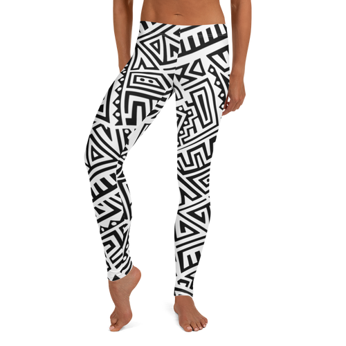 Tribal Maze Leggings