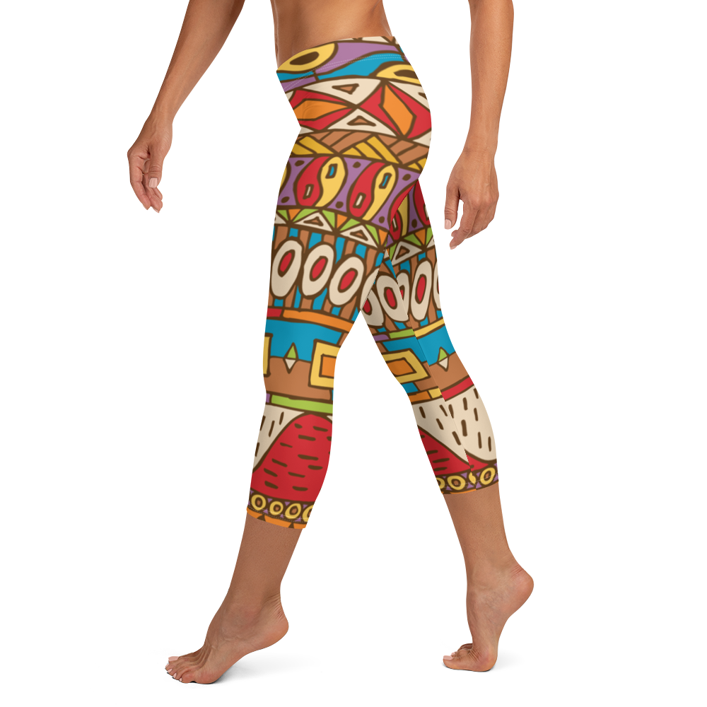 Village Hills Capri Leggings