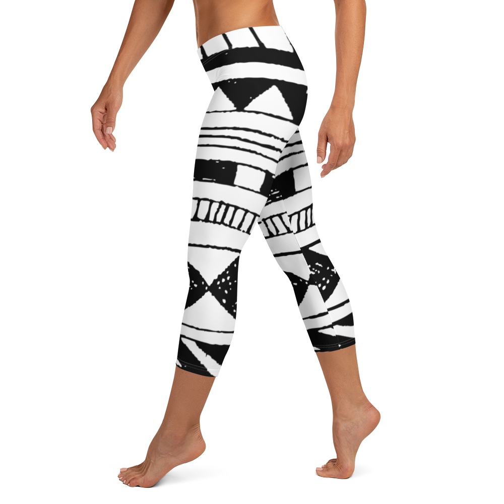 White Space Capri Leggings