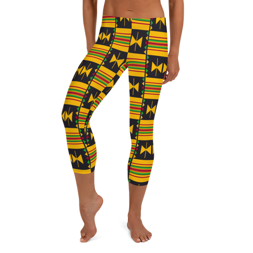 Ghana Love Capri Leggings