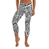 Tribal Maze Capri Leggings