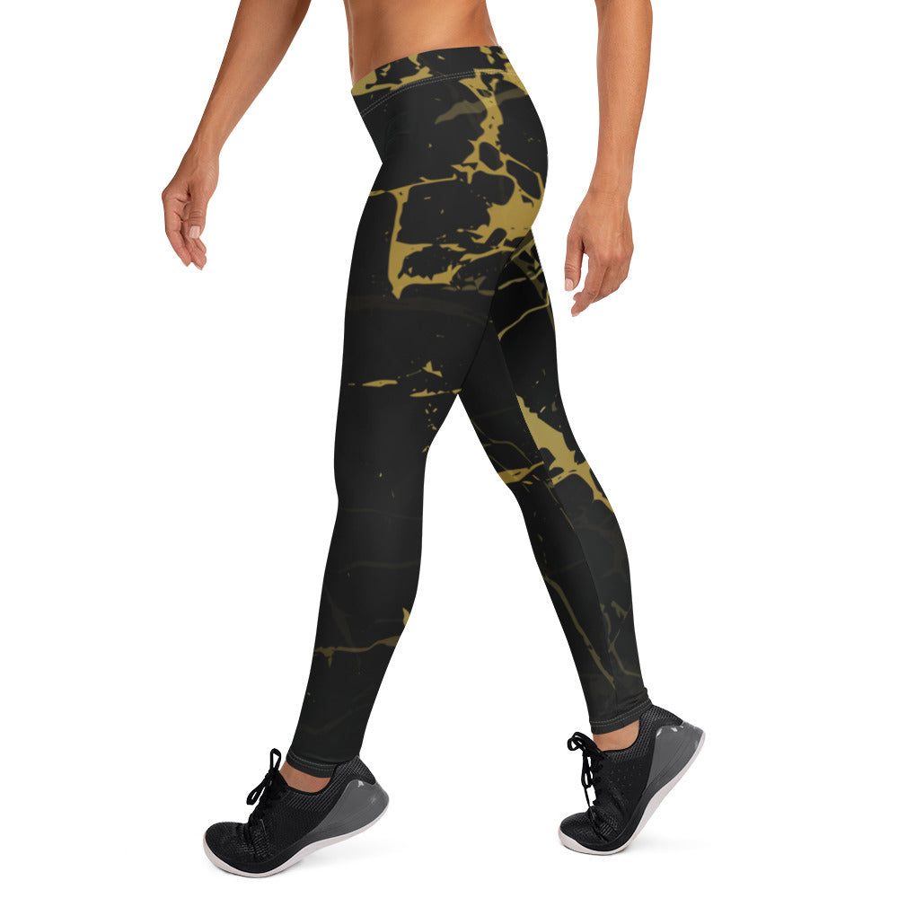 Gold Paint Leggings
