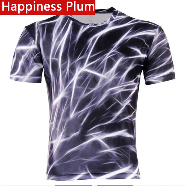 Men's Fashion 3D T-Shirt Polyester