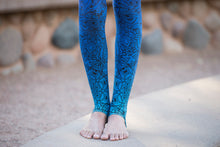TRI COLORED MANDALA TIGHTS
