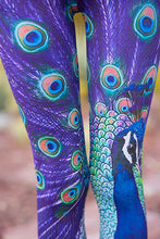 Pretty Peacock - Yoga Pants