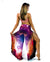 Yoganastix Eco-friendly Liquid Karma Goddess Genie Pants - REVERSIBLE