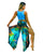 Yoganastix Eco-friendly Aurora Borealis Goddess Genie Pants - REVERSIBLE