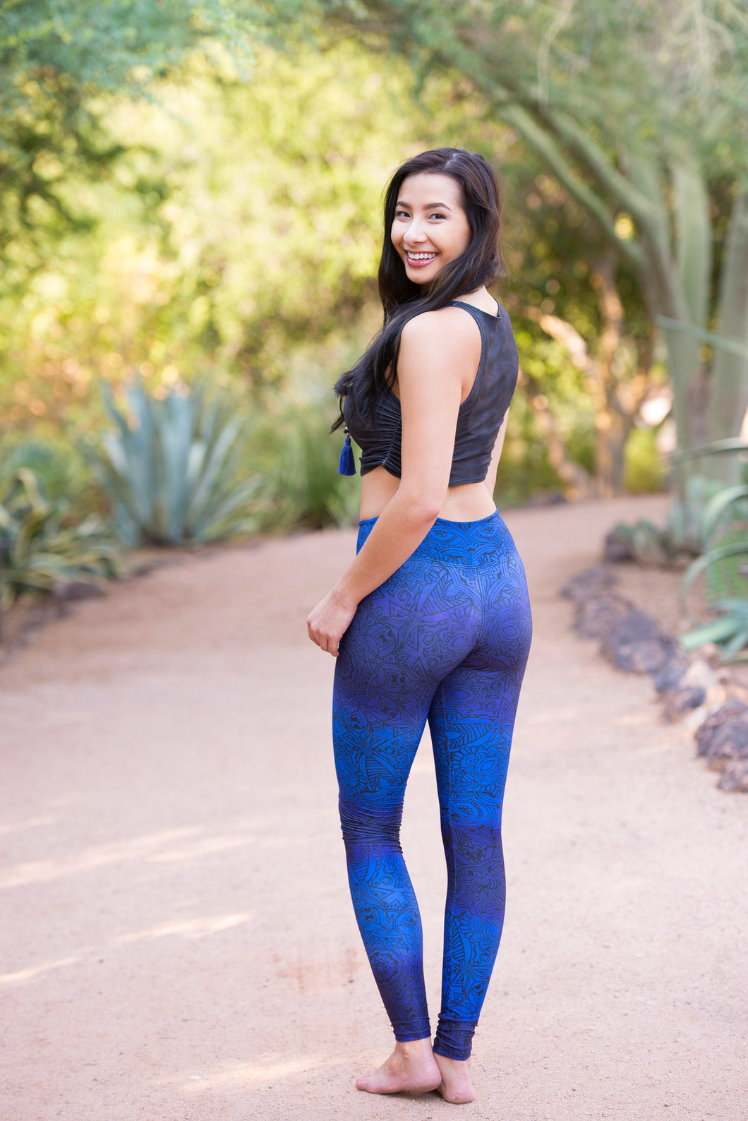 Blue Wonder - Yoga Pants