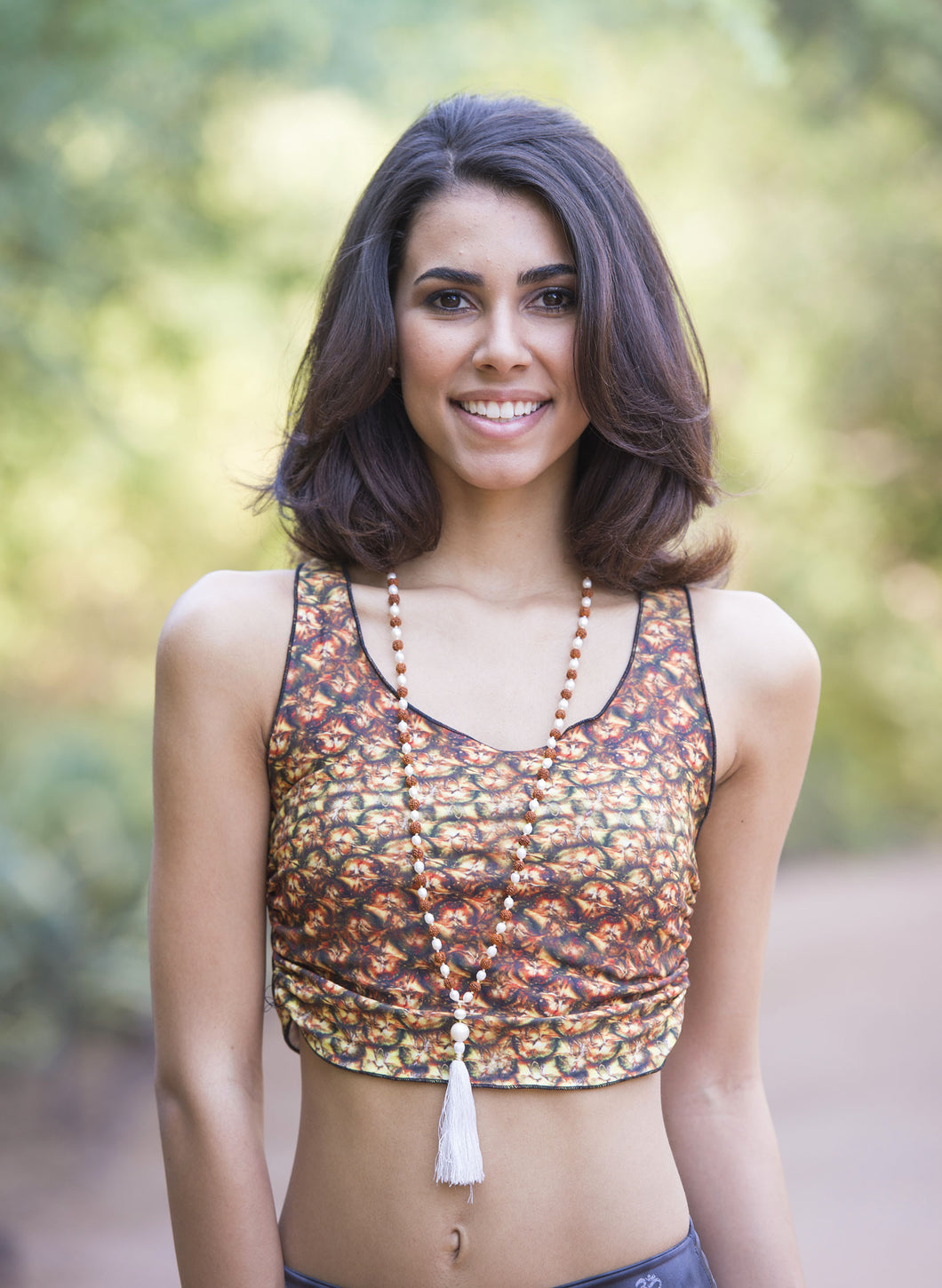 Pineapple Energy - Yoga Crop Top
