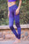 Yoganastix Eco-friendly Purple Mandala Leggings