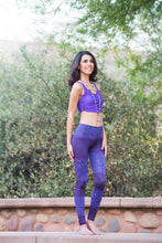 PURPLE MANDALA TIGHTS