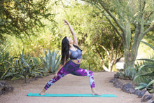 Desert Hippie Tie Dye Purple - Yoga Pants