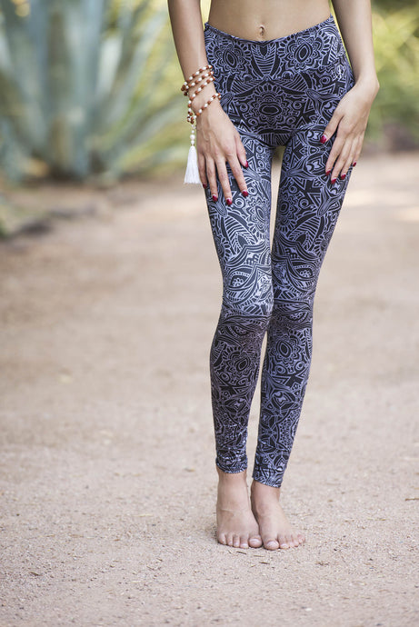 SILVER MANDALA TIGHTS
