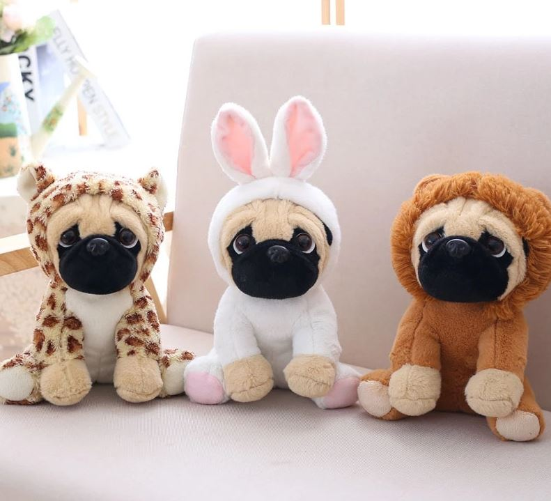 Cute Toy Corner:  Lovable Pugs Plushies For The Win!