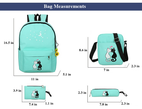 Wonderkat Backpack Dimensions