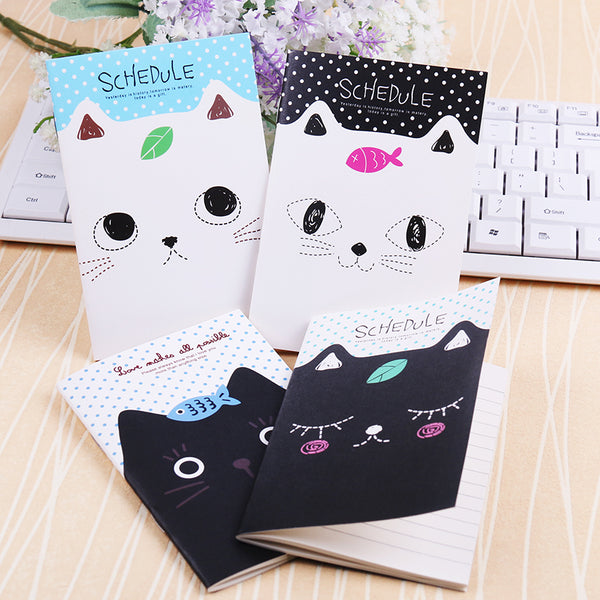 Cute Cat Notebooks (Two Pads)