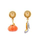 Pumpkin and High Heel Shoe Earrings - CuteFTW