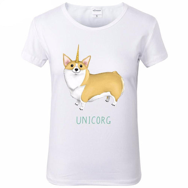Unicorg College Humor T Shirt - CuteFTW