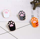 Kitty Paw Lapel Pins - CuteFTW