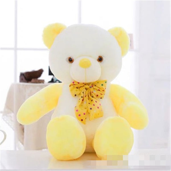 Light Up Bear Plushie - CuteFTW