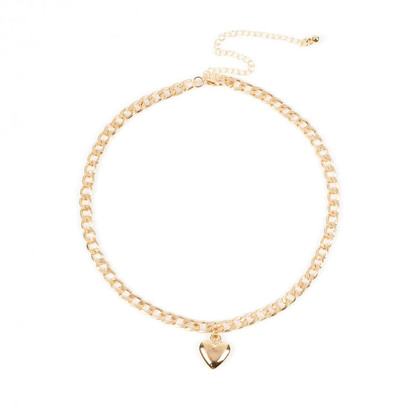 Cute Heart Choker Necklace - CuteFTW