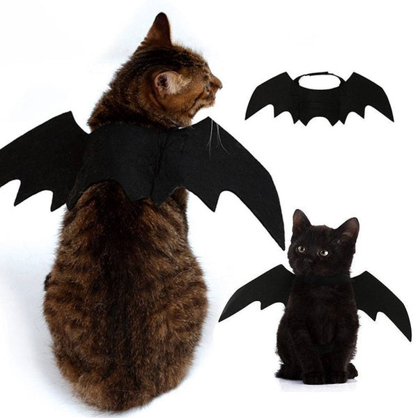 Halloween Bat Wings Pet Costume - CuteFTW