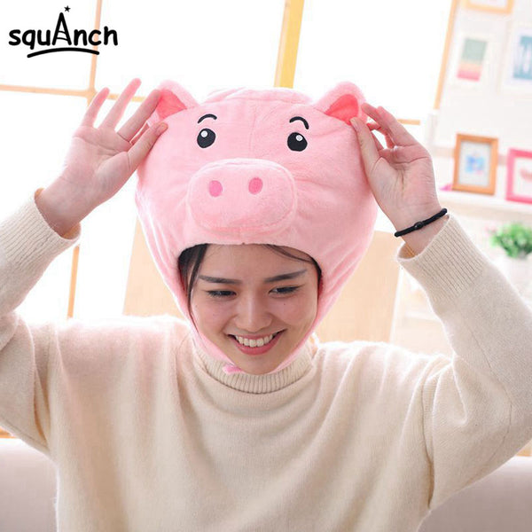 Pig Head Party Hat - CuteFTW