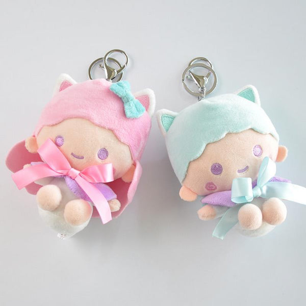 Little Twin Stars Plush Keychain - CuteFTW