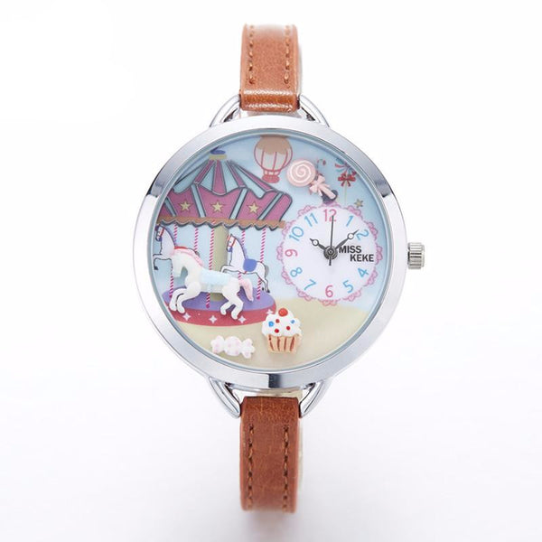 Fun and Carnival Quartz Wristwatch - CuteFTW