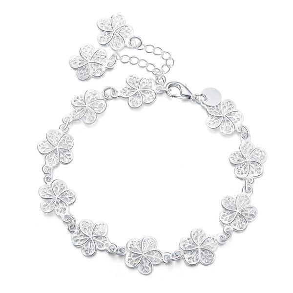 Cute Flower Chain Bracelet - CuteFTW