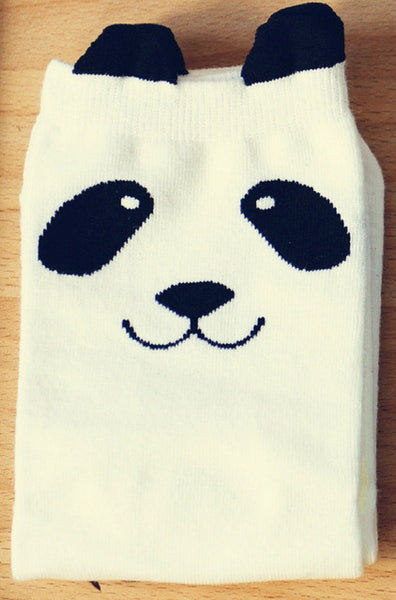 Cute Panda Socks - Single Pair - CuteFTW