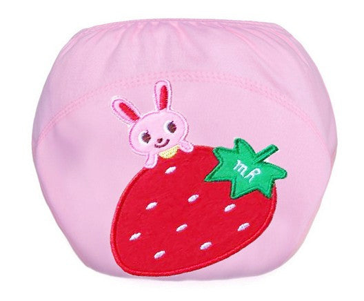 Lovable Baby Training Pants Rabbit Strawberry Cute