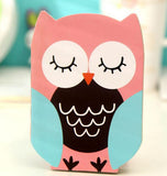 Cute Owl Stitch Bound Notebook - CuteFTW