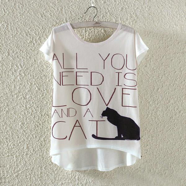 Love and a Cat Shirt - CuteFTW