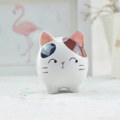 Rounded Cat Figure - CuteFTW