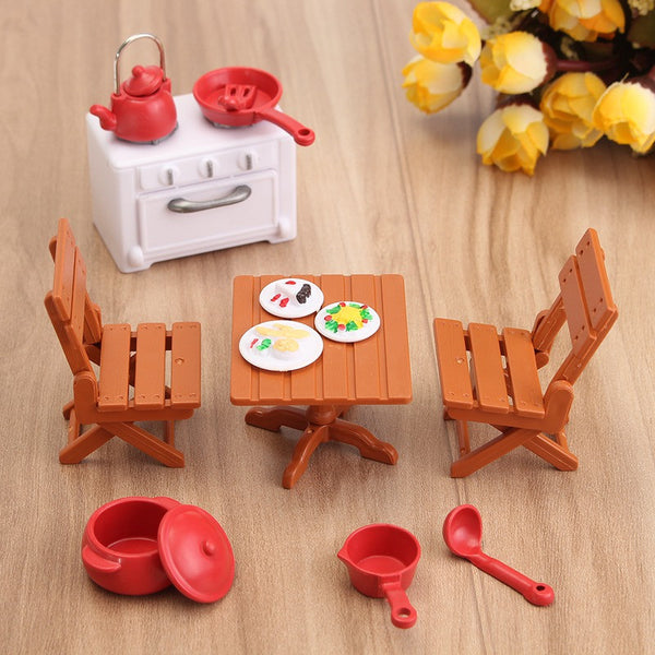 Miniature Kitchen Furniture - CuteFTW