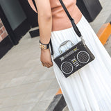Retro Radio Vintage Shoulder Bag - CuteFTW
